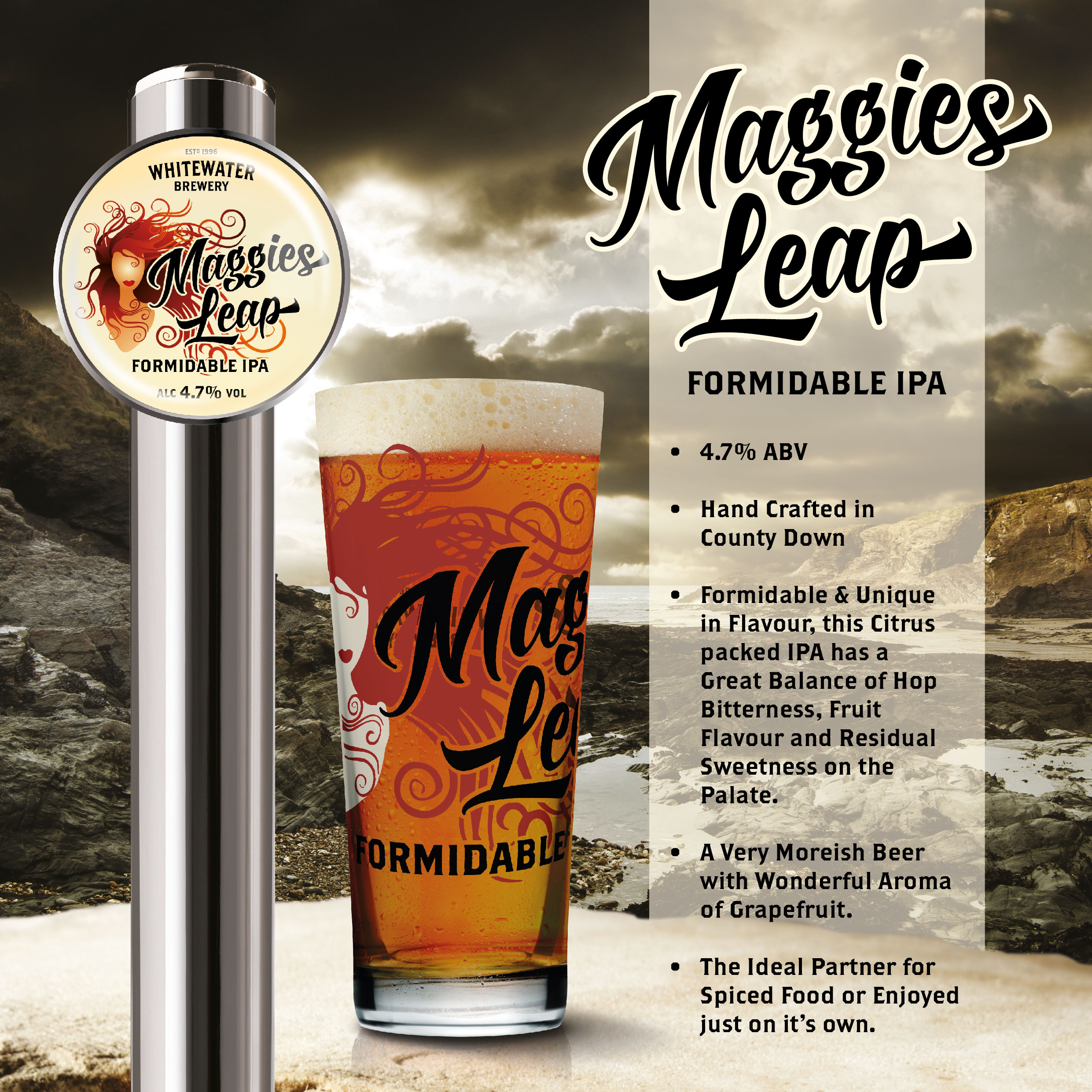Maggies Leap Craft Beer Launched Whitewater Brewery
